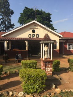 OPD (outpatient department).